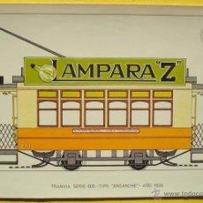 Postales: POSTAL DE TRANVIASERIE 800 -TIPO ¨ENSANCHE¨ NO.32 AÑO 1924. Lote 40290881
