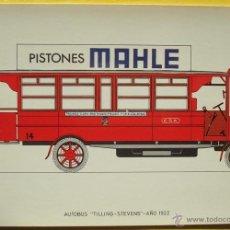 Postales: POSTAL DE AUTOBUS ¨TILLING - STEVENS¨ NO. 29 AÑO 1922. Lote 40290930