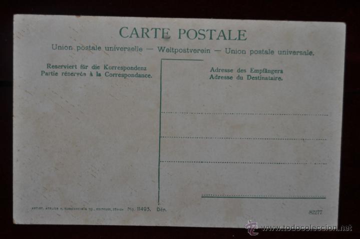 Postales: POSTAL LOCOMOTORA ELECTRICA. LOCOMOTIF ELECTRIQUE. TREN. - Foto 2 - 41123373