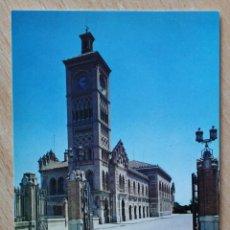 Postales: POSTAL COLECCION RENFE. SERIE E-17. ESTACIÓN DE TOLEDO. EDITADA EN 1977.. Lote 41990379