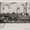 Postales: POSTAL EDITREN VAPOR EN NEGRO Nº 42 - LOCOMOTORA DE VAPOR 242-0281, CONSTRUÍDA POR MTM EN 1927. Lote 158364946