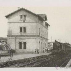 Postales: POSTAL EDITREN VAPOR EN NEGRO Nº 162 - TREN DE VIAJEROS REMOLCADO. ESTACIÓN SILS-STA COLOMA, 1920. Lote 43054185