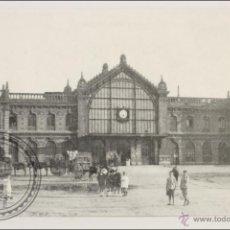 Postales: POSTAL EDITREN VAPOR EN NEGRO Nº 339 - ESTACIÓN DEL FC DE ALMERÍA. INAUGURADA EN 1895. Lote 254745855