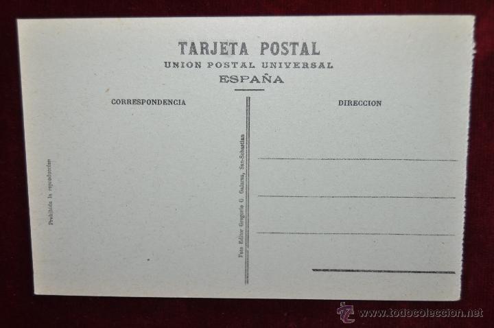 Postales: ANTIGUA POSTAL DE SAN SEBASTIAN. MONTE ULIA, EL TRANVIA AEREO. SIN CIRCULAR - Foto 2 - 43212866