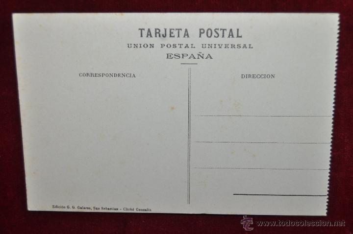 Postales: ANTIGUA POSTAL DE SAN SEBASTIAN. FUNICULAR DEL MONTE IGUELDO. SIN CIRCULAR - Foto 2 - 43213735