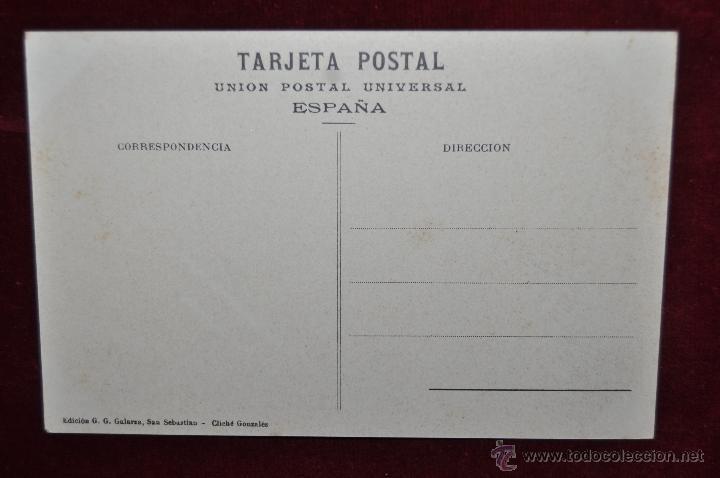 Postales: ANTIGUA POSTAL DE SAN SEBASTIAN. FUNICULAR DEL MONTE IGUELDO. SIN CIRCULAR - Foto 2 - 43213759