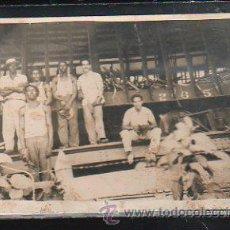 Postales: TARJETA POSTAL FOTOGRAFICA DE SINIESTRO DEL FERROCARRIL EN VERTIENTES, CUBA. 1942. Lote 43288313