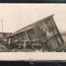 Postales: TARJETA POSTAL FOTOGRAFICA DE ACCIDENTE DEL CENTRAL ALTO CERRO.. Lote 43288521