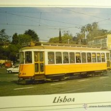 Postales: POSTAL EXTRANJERA TRANVIA LISBOA - PORTUGAL. Lote 43804733