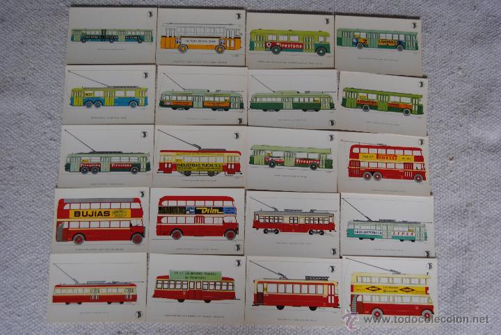 POSTALES TRANSPORTE DE BARCELONA PARA COMMEMORAR EL CENTANARIO DEL TRANVIA (Postales - Postales Temáticas - Trenes y Tranvías)
