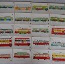 Postales: POSTALES TRANSPORTE DE BARCELONA PARA COMMEMORAR EL CENTANARIO DEL TRANVIA. Lote 44648188