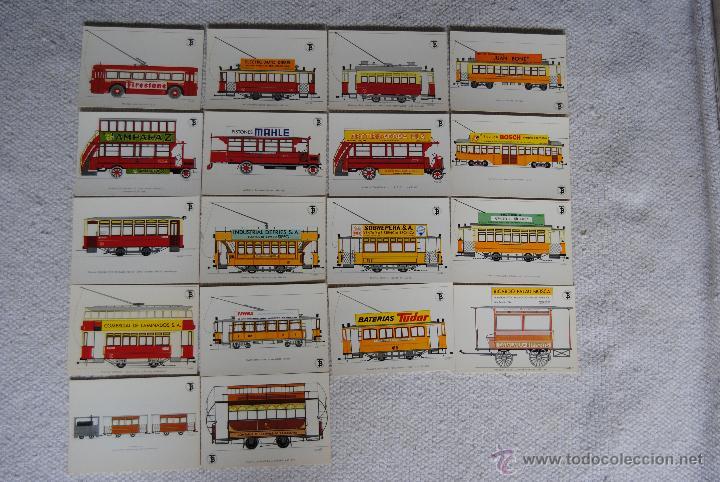 Postales: POSTALES TRANSPORTE DE BARCELONA PARA COMMEMORAR EL CENTANARIO DEL TRANVIA - Foto 2 - 44648188