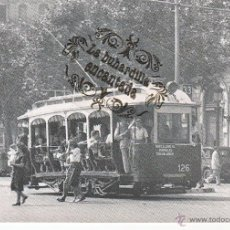 Postales: POSTAL - TRANVIA DE BARCELONA - COCHE 126 - 31-07-1949 - EUROFER - Nº 4038 . Lote 53067623