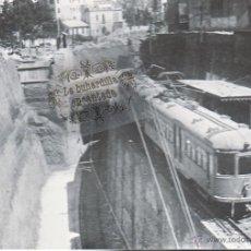 Postales: POSTAL - FERROCARRIL SARRIA OBRAS EN PLAZA MOLINA AÑO 1929 - EUROFER Nº 4223. Lote 142804728
