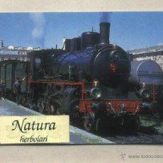 Postales: POSTAL ESTACIÓN REUS. LOCOMOTORA TREN DE VAPOR 230 - 2115. EUROFER AMICS DEL FERROCARRIL. Lote 45001637