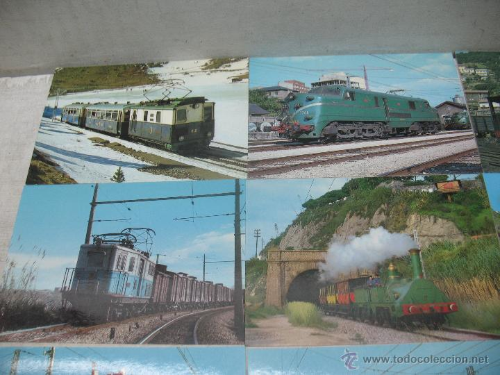 Postales: Lote de 25 postales ferroviarias de locomotoras - Foto 3 - 45271965