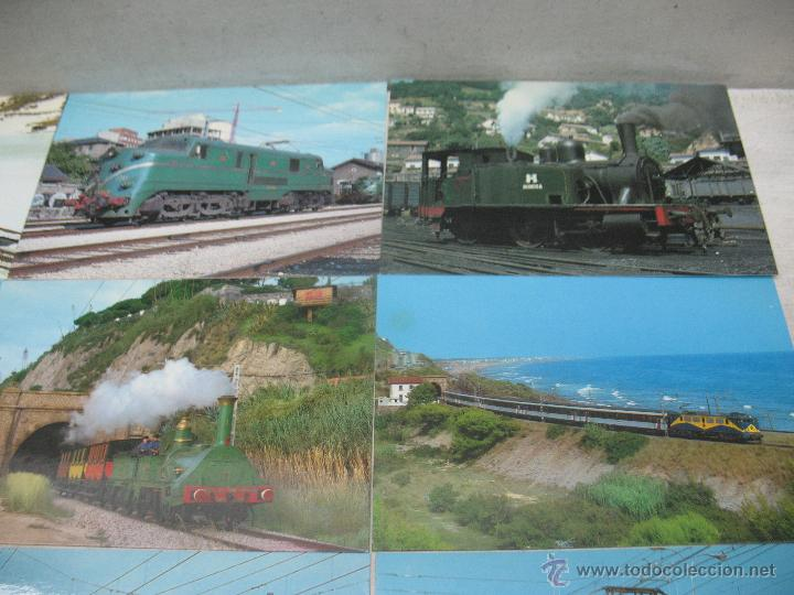 Postales: Lote de 25 postales ferroviarias de locomotoras - Foto 4 - 45271965
