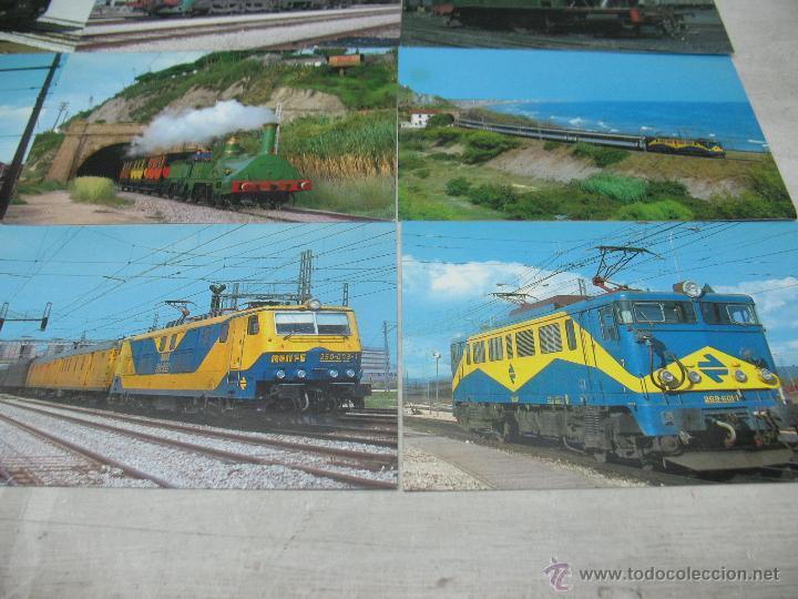 Postales: Lote de 25 postales ferroviarias de locomotoras - Foto 5 - 45271965