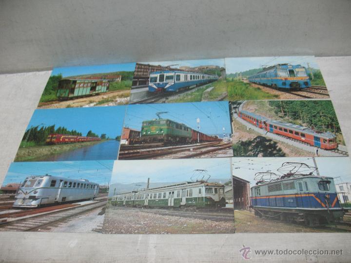Postales: Lote de 25 postales ferroviarias de locomotoras - Foto 7 - 45271965