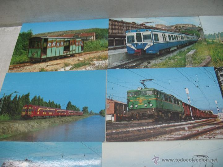 Postales: Lote de 25 postales ferroviarias de locomotoras - Foto 8 - 45271965