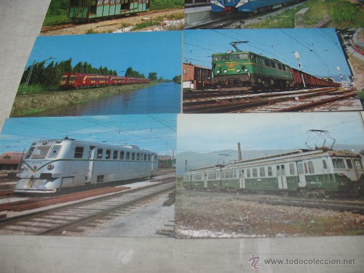 Postales: Lote de 25 postales ferroviarias de locomotoras - Foto 9 - 45271965