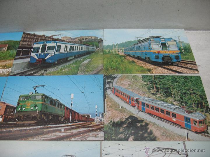 Postales: Lote de 25 postales ferroviarias de locomotoras - Foto 10 - 45271965