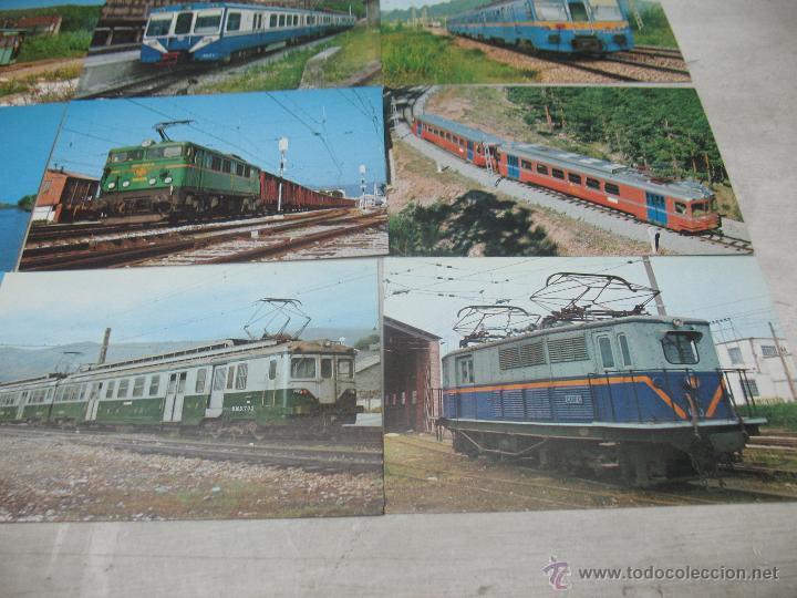 Postales: Lote de 25 postales ferroviarias de locomotoras - Foto 11 - 45271965
