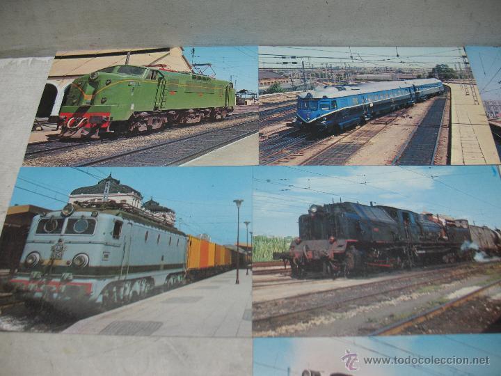 Postales: Lote de 25 postales ferroviarias de locomotoras - Foto 13 - 45271965