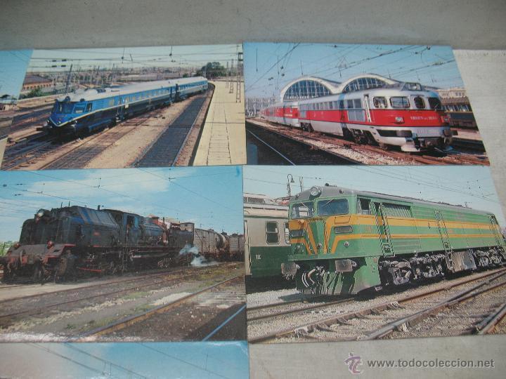 Postales: Lote de 25 postales ferroviarias de locomotoras - Foto 14 - 45271965
