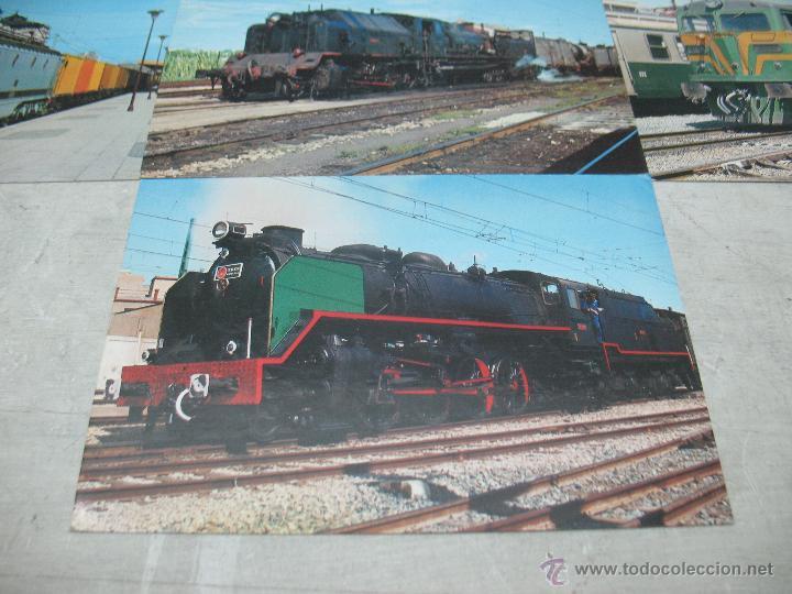 Postales: Lote de 25 postales ferroviarias de locomotoras - Foto 15 - 45271965