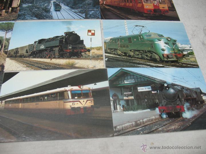 Postales: Lote de 30 postales ferroviarias de locomotoras vagones tranvías - Foto 6 - 45272686