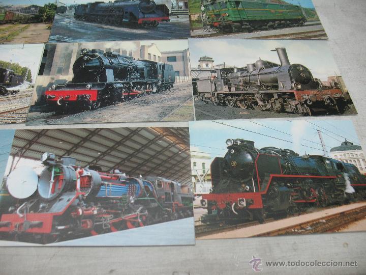 Postales: Lote de 30 postales ferroviarias de locomotoras vagones tranvías - Foto 11 - 45272686