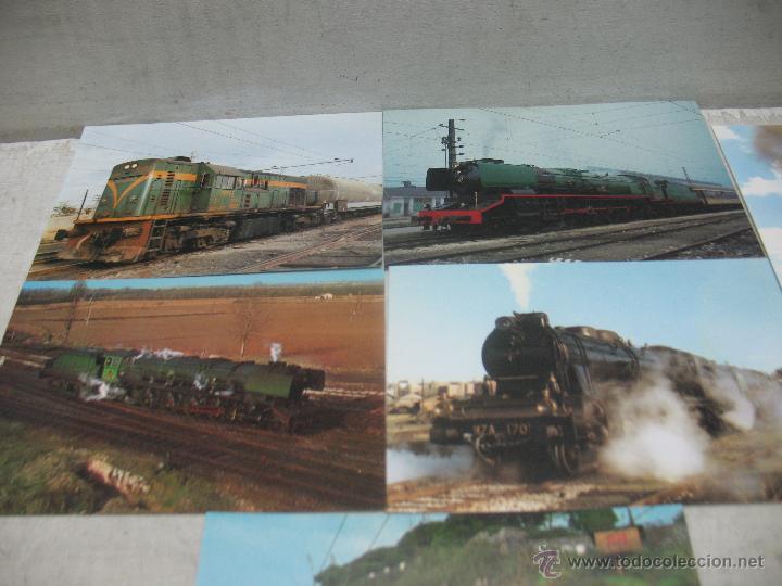 Postales: Lote de 30 postales ferroviarias de locomotoras vagones tranvías - Foto 13 - 45272686
