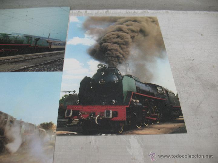 Postales: Lote de 30 postales ferroviarias de locomotoras vagones tranvías - Foto 14 - 45272686