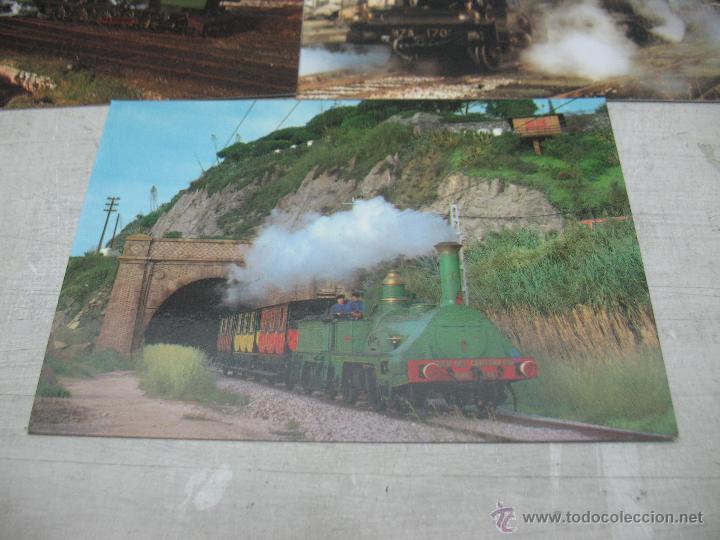 Postales: Lote de 30 postales ferroviarias de locomotoras vagones tranvías - Foto 15 - 45272686
