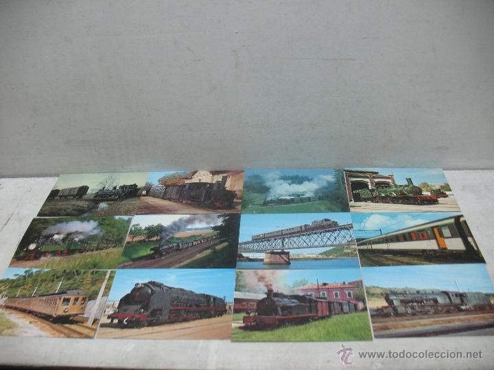 Postales: Lote de 30 postales ferroviarias de locomotoras vagones tranvías - Foto 6 - 45273059