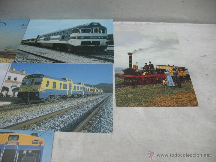 Postales: Lote de 30 postales ferroviarias de locomotoras vagones tranvías - Foto 14 - 45273059
