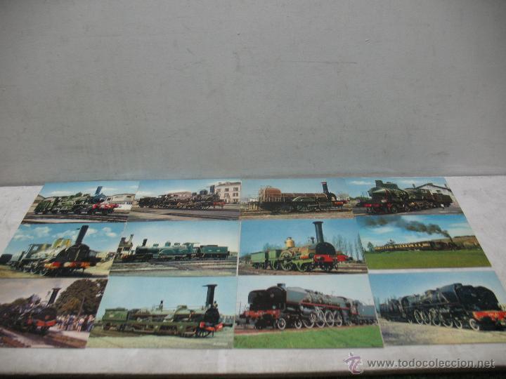 Postales: Lote de 35 postales ferroviarias de locomotoras vagones tranvías - Foto 6 - 45273649
