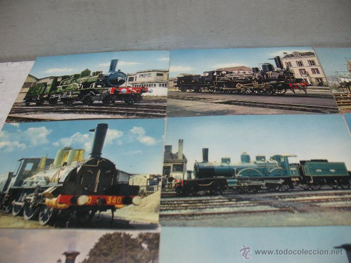 Postales: Lote de 35 postales ferroviarias de locomotoras vagones tranvías - Foto 7 - 45273649