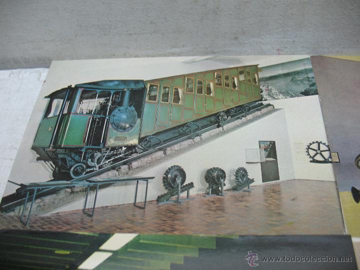 Postales: Lote de 35 postales ferroviarias de locomotoras vagones tranvías metros vías señales - Foto 13 - 45274457