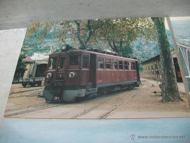 Postales: Lote de 35 postales ferroviarias de locomotoras vagones tranvías metros vías señales - Foto 18 - 45274457