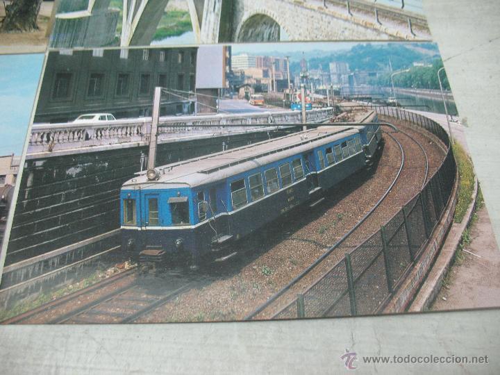 Postales: Lote de 35 postales ferroviarias de locomotoras vagones tranvías metros vías señales - Foto 20 - 45274457