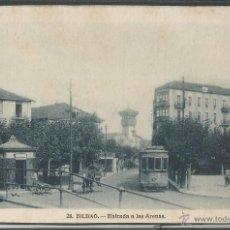 Postales: TRANVIA - BILBAO - ENTRADA A LAS ARENAS - P2617. Lote 45514576