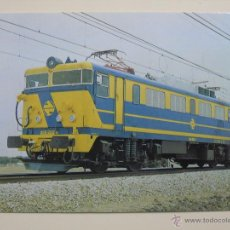 Postales: POSTAL DE TRENES. RENFE FERROCARRIL TREN AÑO 1983. LOCOMOTORA 269. 708. Lote 45787192