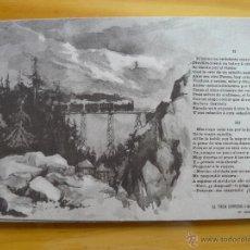 Postales - POSTAL SERIE EL TREN EXPRES SERIE I NUM. 10 - 45897069
