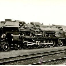 Postales: TREN-LOCOMOTORA-241P-SNCF 1950. Lote 46460625