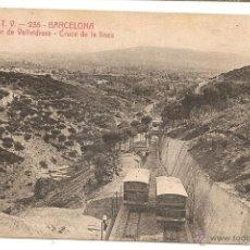 Postales: FUNICULAR DE VALLVIDRIERA (BARCELONA). ATV. Lote 128567372