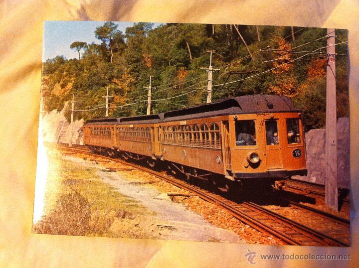 Postales: Postales de trenes en La Molina, Vilanova y Les Planes - Foto 2 - 48114410
