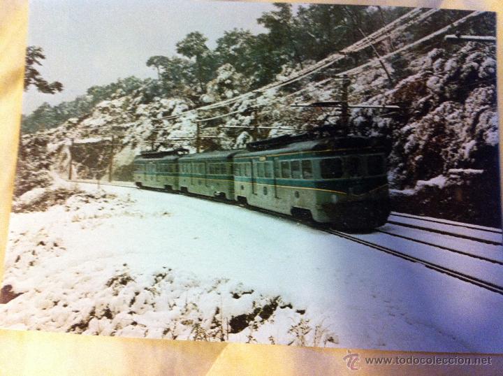 Postales: Postales de trenes en La Molina, Vilanova y Les Planes - Foto 3 - 48114410