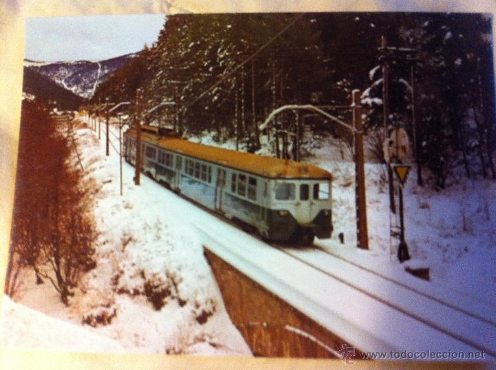 Postales: Postales de trenes en La Molina, Vilanova y Les Planes - Foto 5 - 48114410